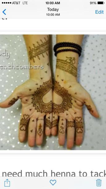 make-up henna natural makeup look