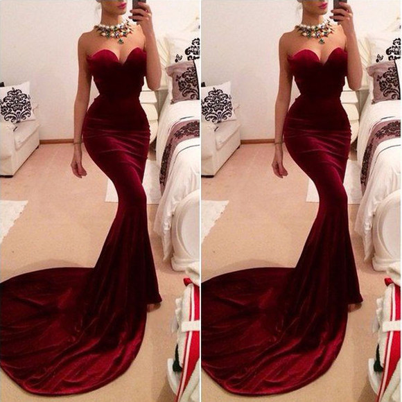 maxi dress prom dress long dress floor length dress wedding dress celebrity dress 2014 ball gown dress velvet dress