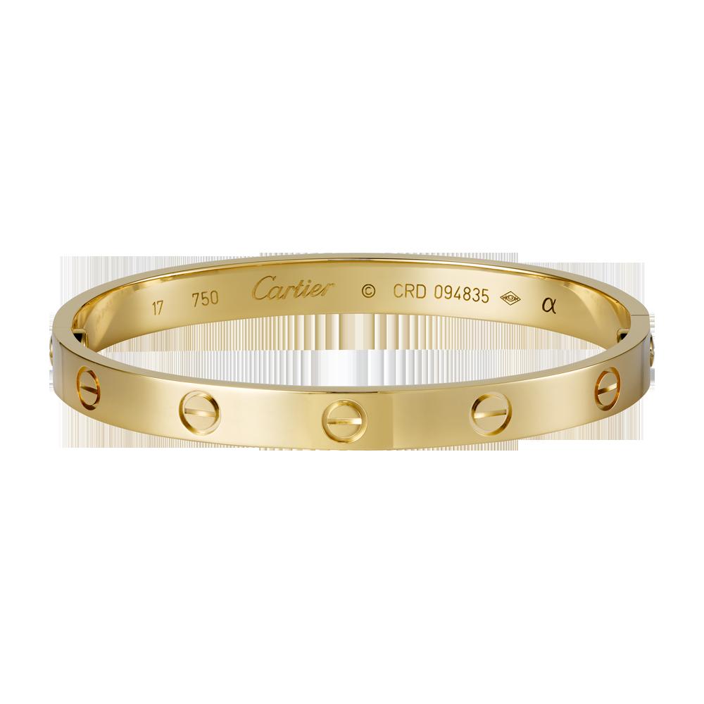 Bracelet LOVE - Or jaune - Bracelets de luxe pour femme -  Cartier