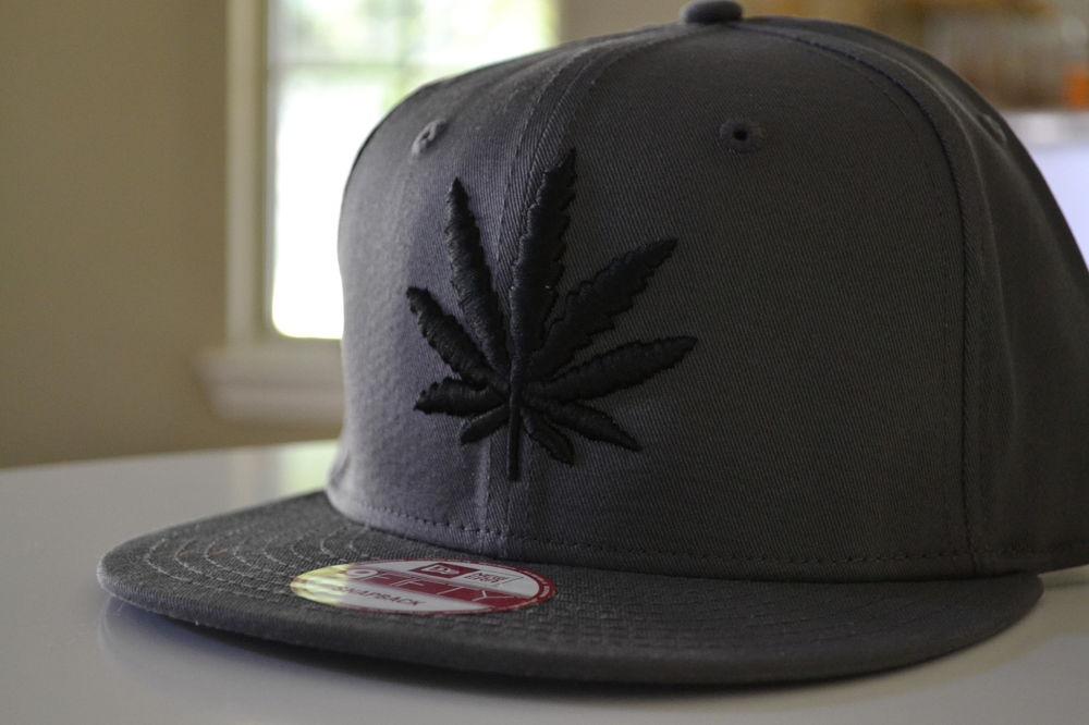 New Era Custom RARE 420 Marijuana Huf Weed Leaf Dope Dank Hat Cap Snapback New