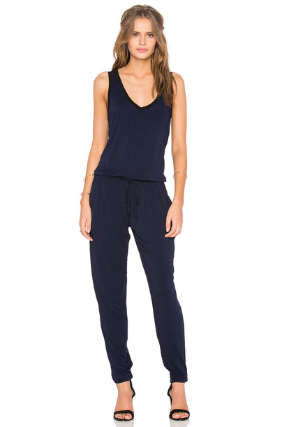 FEEL THE PIECE jumpsuit sleeveless navy