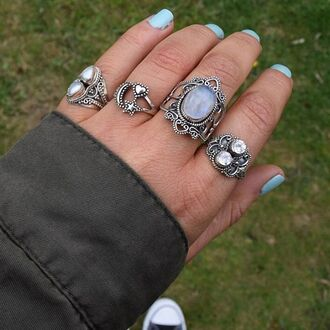 jewels cherry diva boho bohemian knuckle ring ring silver silver ring silver jewelry boho jewelry sterling silver rings