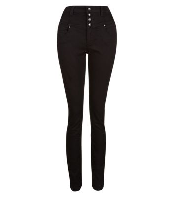 32in Black Supersoft High Waisted Skinny Jeans