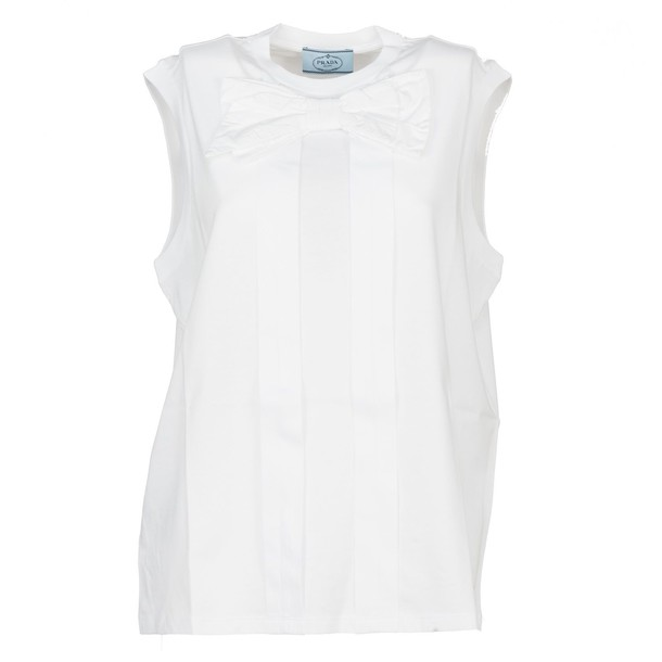 Prada t-shirt shirt t-shirt white top