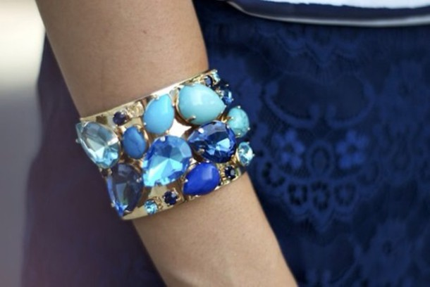 jewels blue bracelets