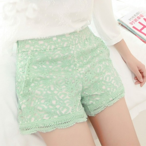 pale hippie shorts highwaisted shorts