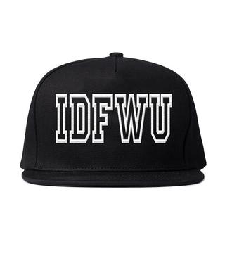 snapback snapback hat cap slogan hat @bigsean @idfwu @shirtt idfwu baseball hat