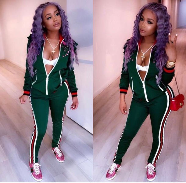 jacket green tracksuit gucci
