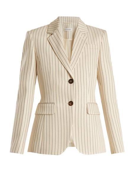 Altuzarra blazer white cream jacket