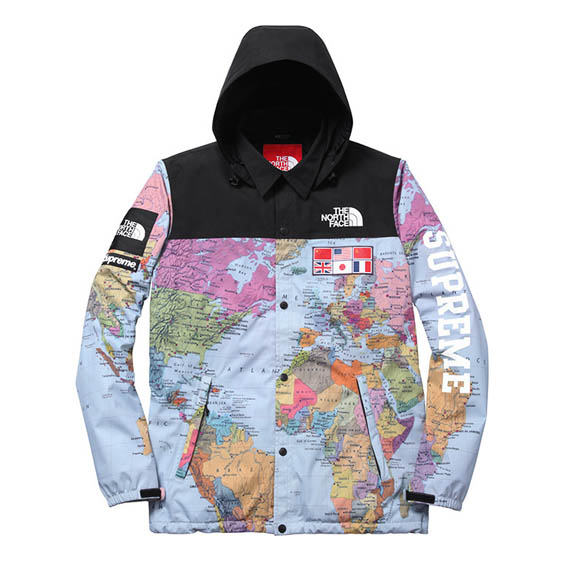 The north face x supreme expedition coaches jacket