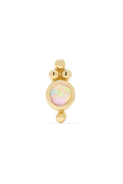 Maria Tash opal gold jewels
