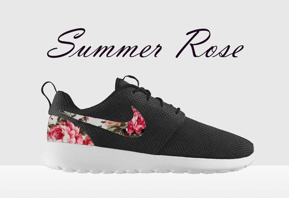 nike roshe run fleurs