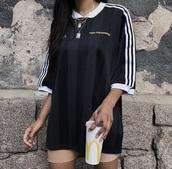 t-shirt,black,adidas,shirt