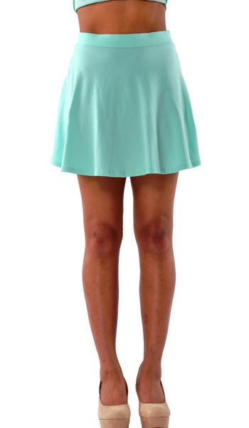 Mint Skater Skirt