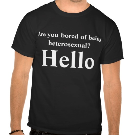 Are you bored of being heterosexual