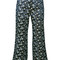 Erdem - jeda cropped trousers - women - silk/polyester - 10, blue, silk/polyester
