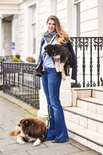 thank fifi blogger shirt scarf