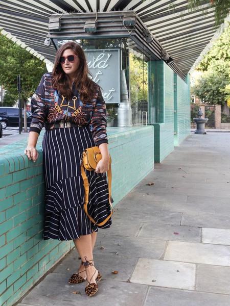 fashion foie gras blogger jacket skirt bag shoes