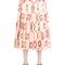 Gg printed silk duchesse skirt