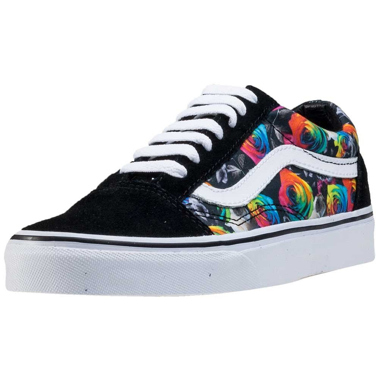 8f1937cdcf747 Amazon.com | Vans Unisex Old Skool (Rainbow Floral) Skate Shoe |  Skateboarding