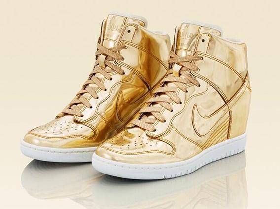 "Nike WMNS Dunk Sky Hi ""Liquid Metal"" Pack - Release Date - SneakerNews.com"