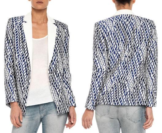 Elsa Oversized Jacket Shop Designer Clothes, Premium Denim Jeans   JOE'S Jeans