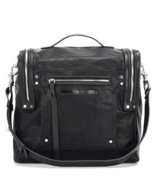McQ Alexander McQueen bag shoulder bag leather black