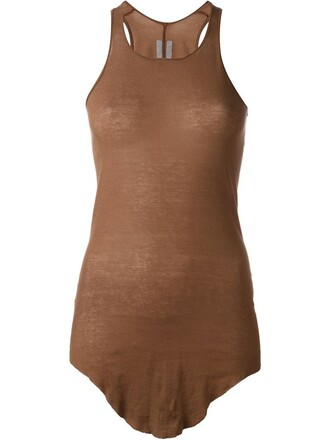 tank top top brown