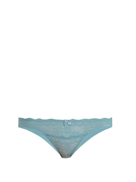 STELLA MCCARTNEY LINGERIE light blue light blue underwear