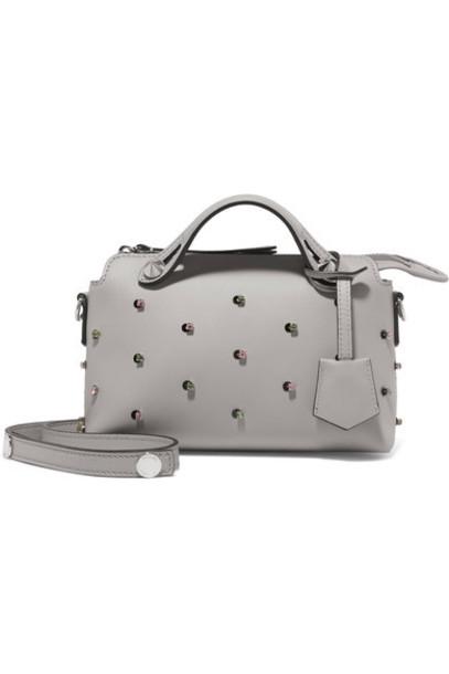 Fendi mini embellished bag shoulder bag leather
