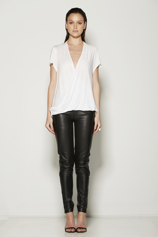 Shirt in white avl 5th feb