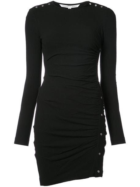 Veronica Beard dress mini dress mini women spandex black wool