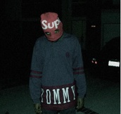 sweater,tyler the creator,tommy hilfiger,crewneck,tommy hilfiger crop top,vintage tommy hilfiger,sweatshirt,desiger