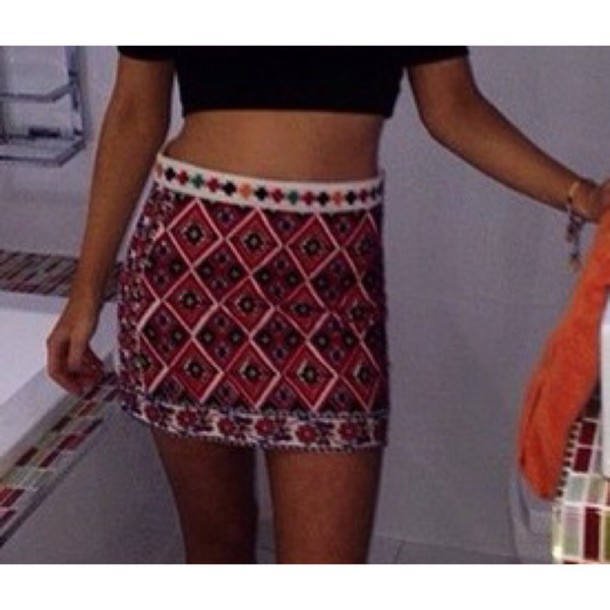 skirt red skirt red underwear red dress fashion topshop style gorgeous beautiful cotton mini skirt
