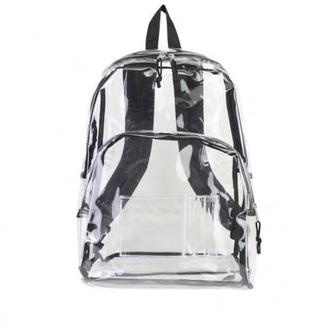 jewels backpack clear grunge punk see through sheer futuristic bag tumblr cute