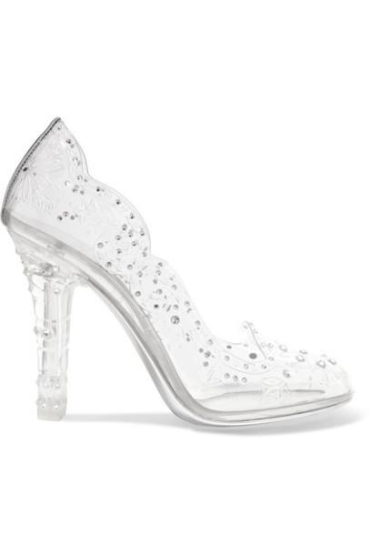Dolce & Gabbana embellished pumps silver shoes