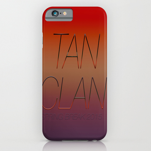 Tan clan iphone & ipod case by sammy cee