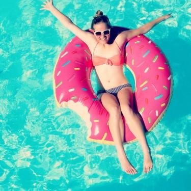 La Bouée Géante Donut  | CadeauxFolies