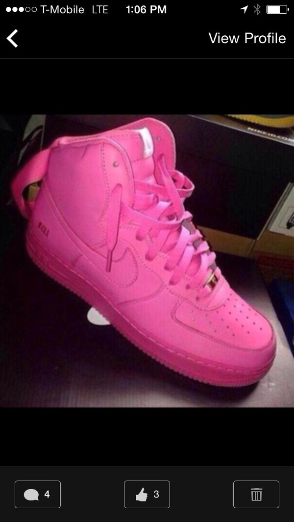 shoes pink up towns nike
