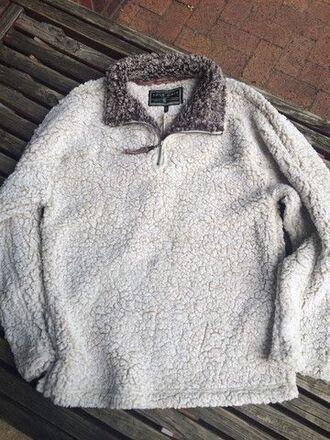 sweater sweatshirt quarterzip soft comfortable lounge wear pullover