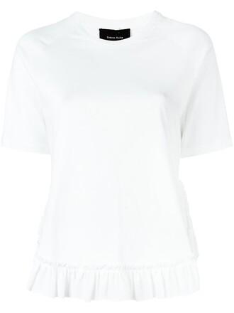 t-shirt shirt ruffle top