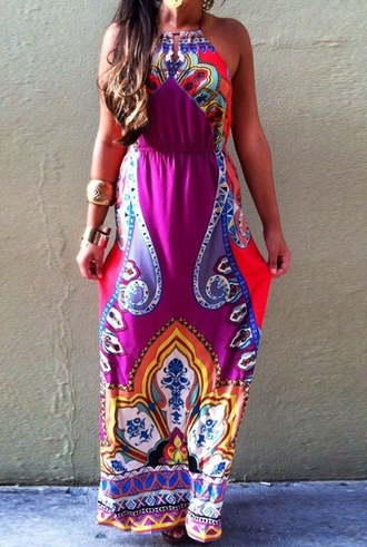 dress maxi dress chiffon dress bohemian summer dress fashion girly girl blogger trendy boho beach dress urban printed dress bohemian dress casual tumblr clothes women clothes summer outfits event outfit hipster vintage crop tops gossip girl
