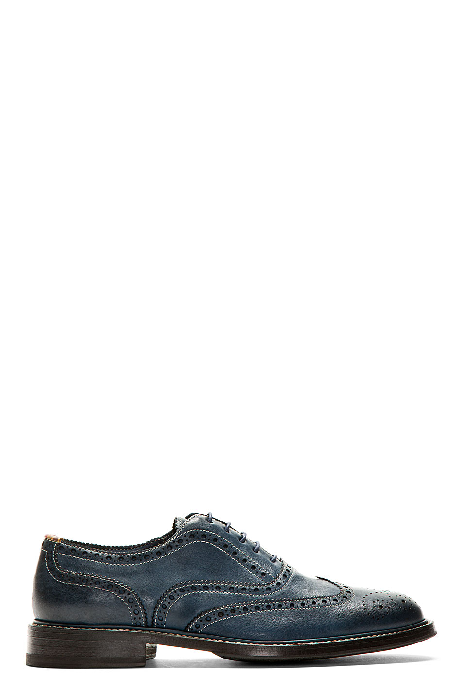ps by paul smith navy knight oxford brogues