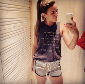 cute short cute shorts. summer soccer t-shirt tee-shirt muscle tee basketball shorts comfy outfits