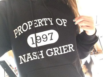 nash grier hoodie phone cover