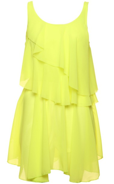 dress summer dress yellow dress