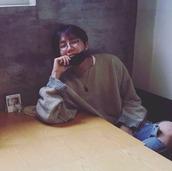 sweater,kpop,yeezy,music,jumper,korean fashion,grey sweater,menswear,beige,bts,bangtan boys,mens sweater