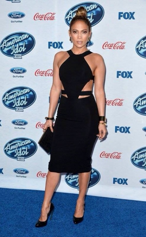 dress black dress jennifer lopez jennifer lopez