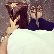 shoes,leopard print,leopard print flats,bag,leopard loafers,loafers,jeans,jewels