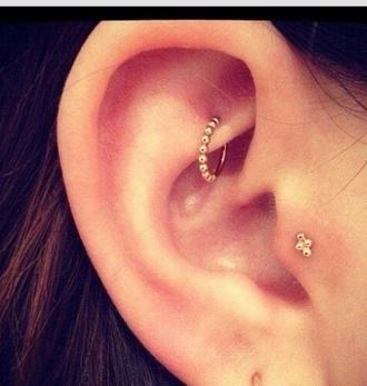 jewels rook earrings hoop piercing